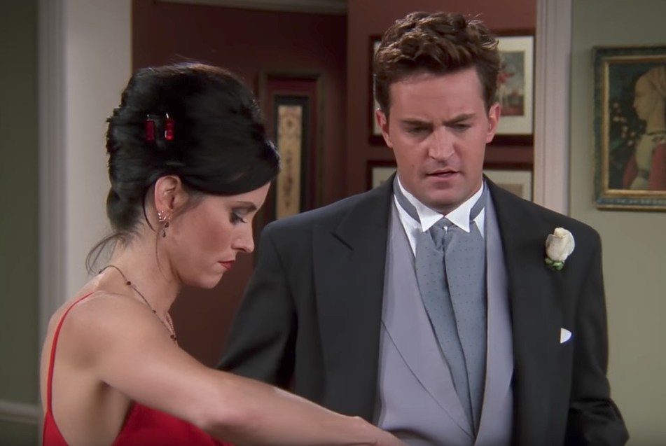 Chandler and Monica Marriage Funniest Jokes From Friends