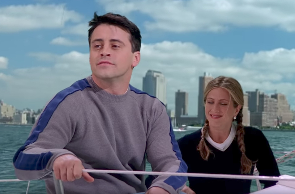 Joey and Rachel Go Sailing Funniest Jokes From Friends