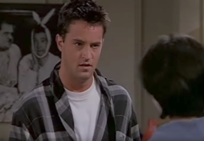 Friends Monica and Chandler Work Out Funniest Jokes From Friends