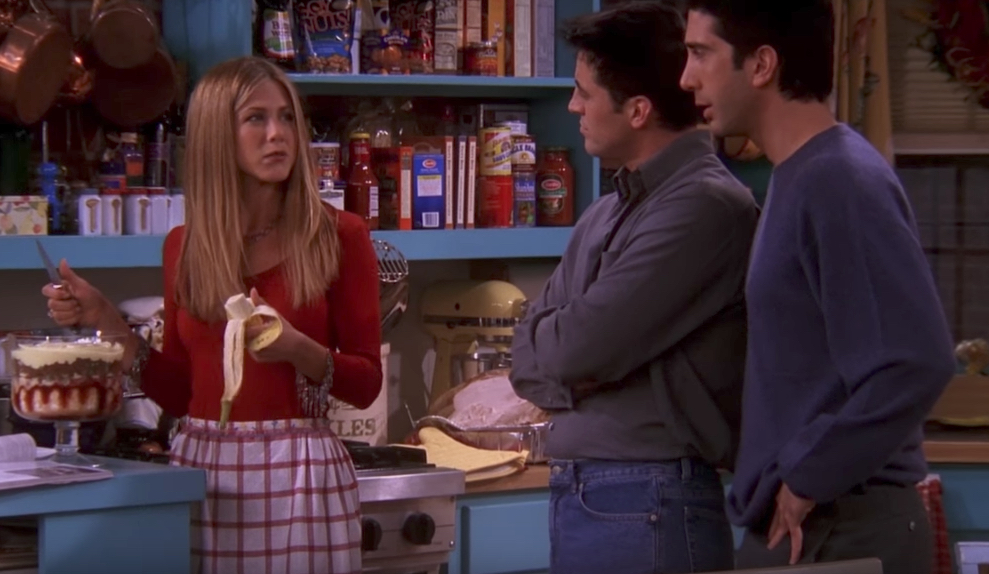 Rachel Cooks Funniest Jokes From Friends