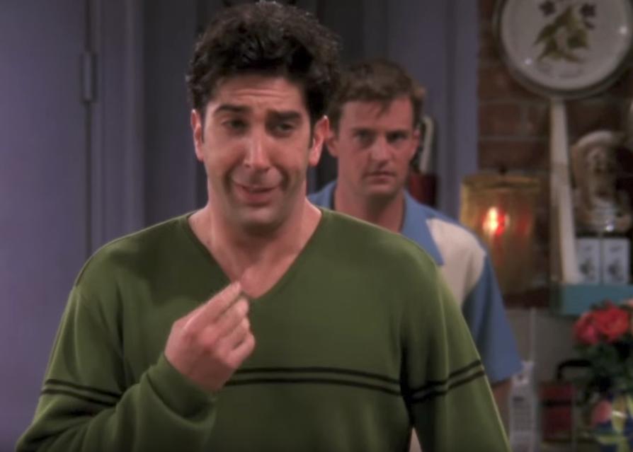 Ross We Were on a Break Funniest Jokes From Friends