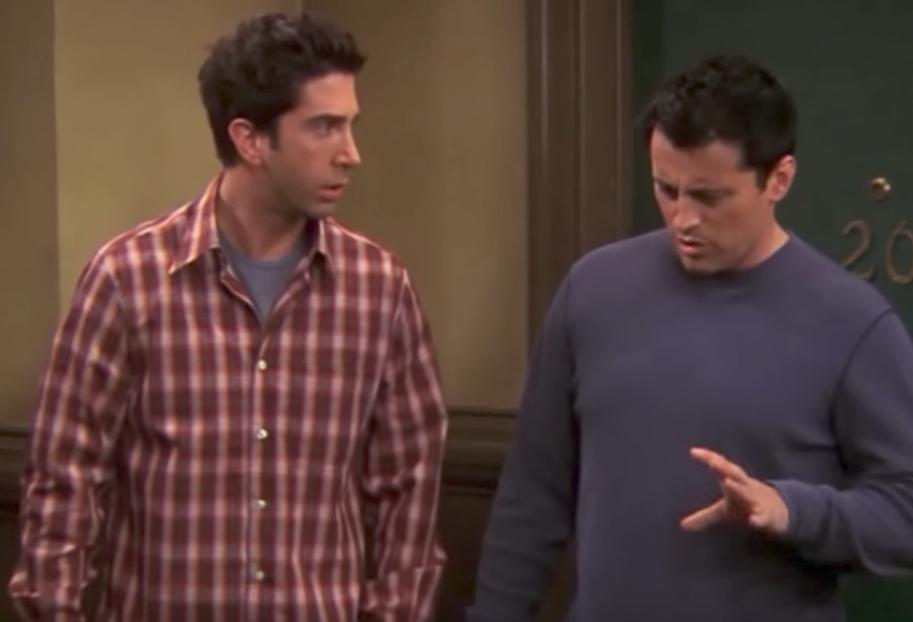 Friends Ross and Joey Funniest Jokes From Friends