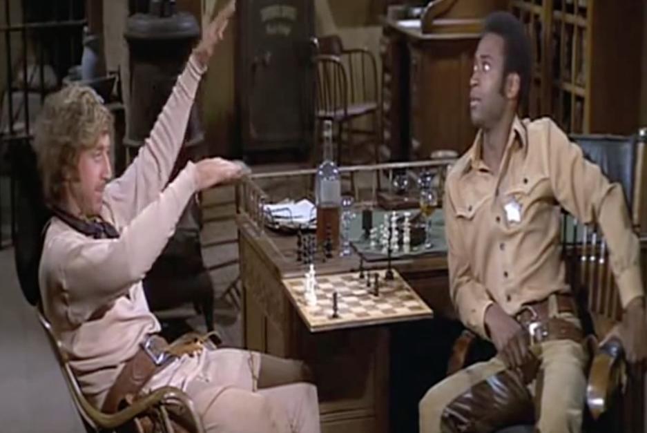 Gene Wilder Blazing Saddles funny movie quotes
