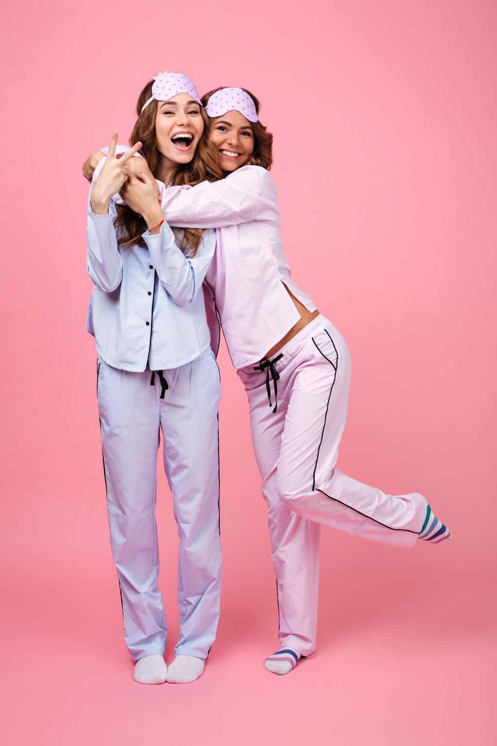 Girls Wearing Pajamas