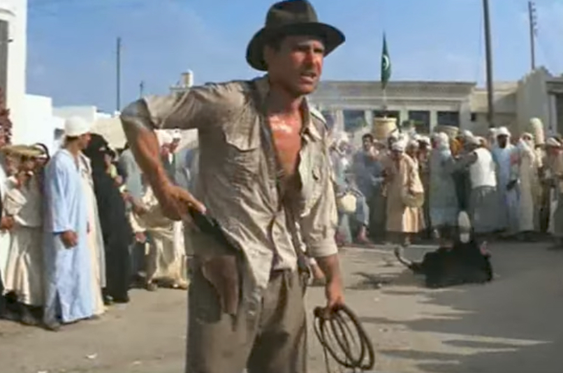 Harrison Ford Indiana Jones Jokes From Non-Comedy Movies