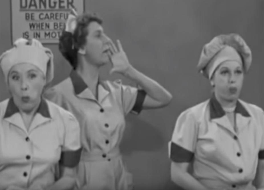 I Love Lucy Chocolate Factory Funniest Sitcom Jokes