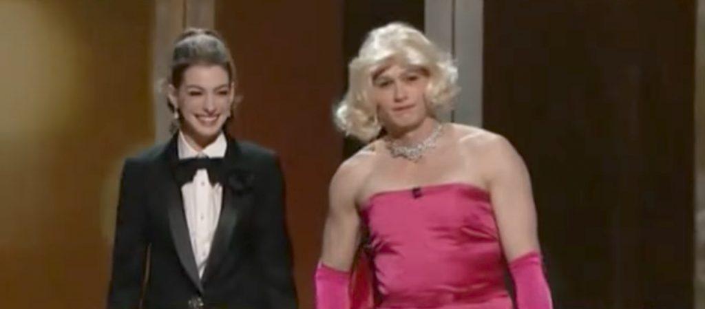 James Franco Dresses as Marilyn Monroe Oscars Jokes