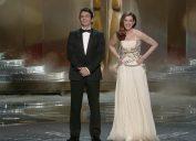 James Franco Anne Hathaway host the Oscars