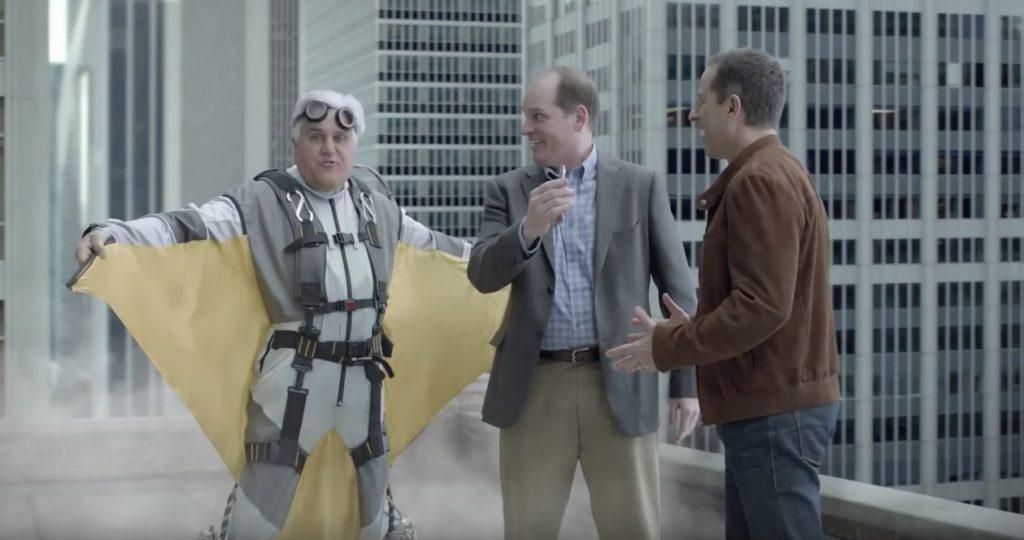 Jay Leno Jerry Seinfeld Acura Celebrity Commercials