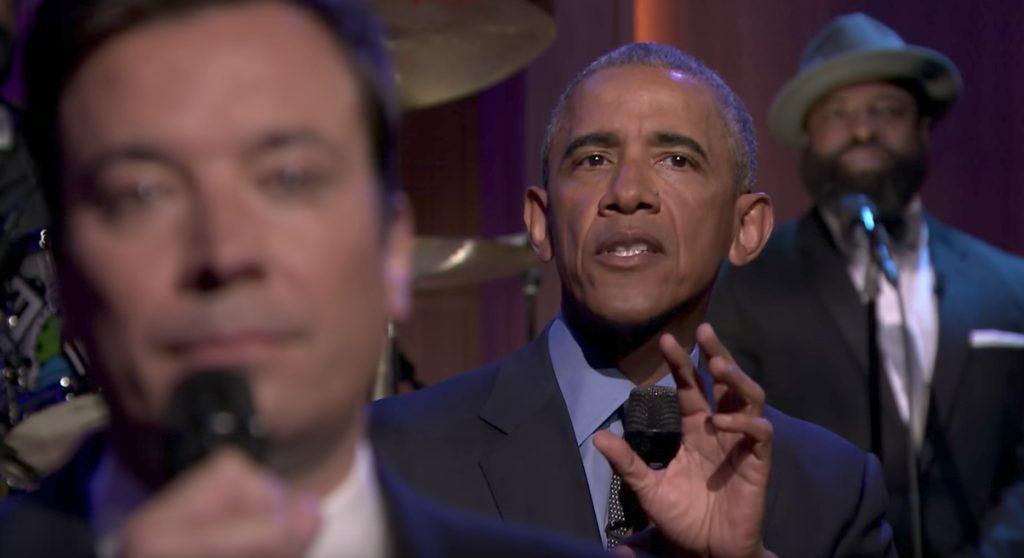 Jimmy Fallon and Barack Obama Late Night