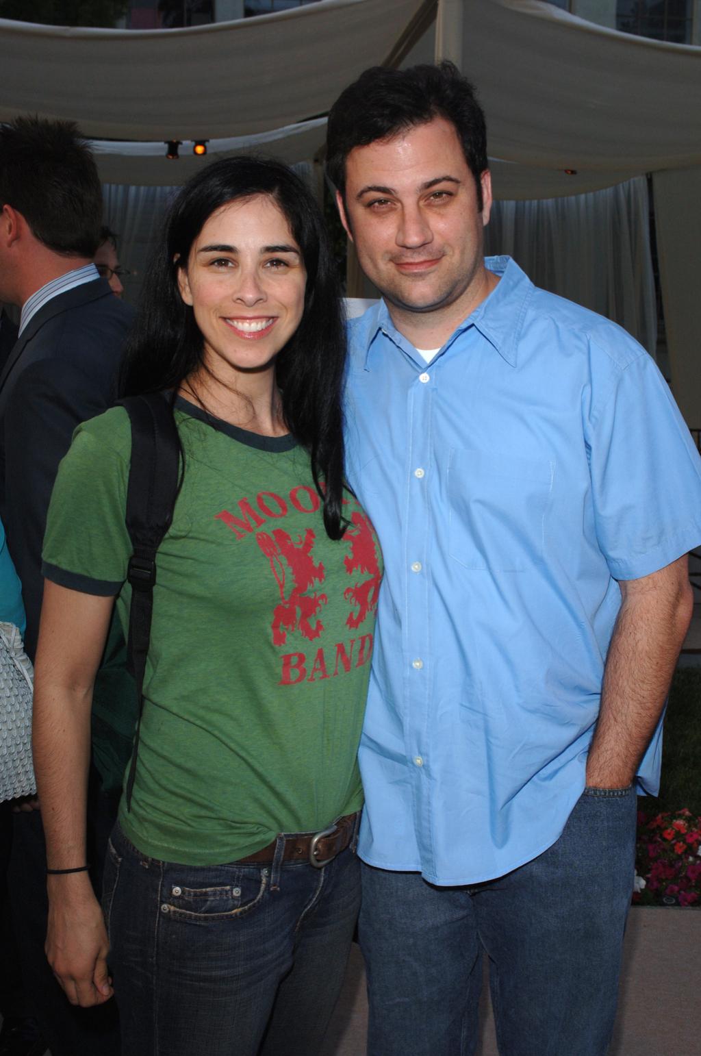 Jimmy Kimmel and Sarah Silverman Late Night