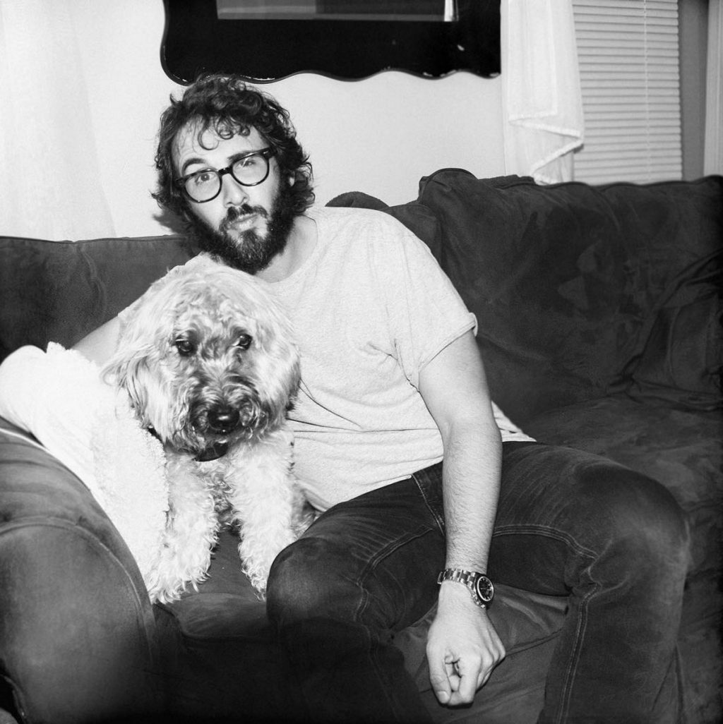 Josh Groban dog