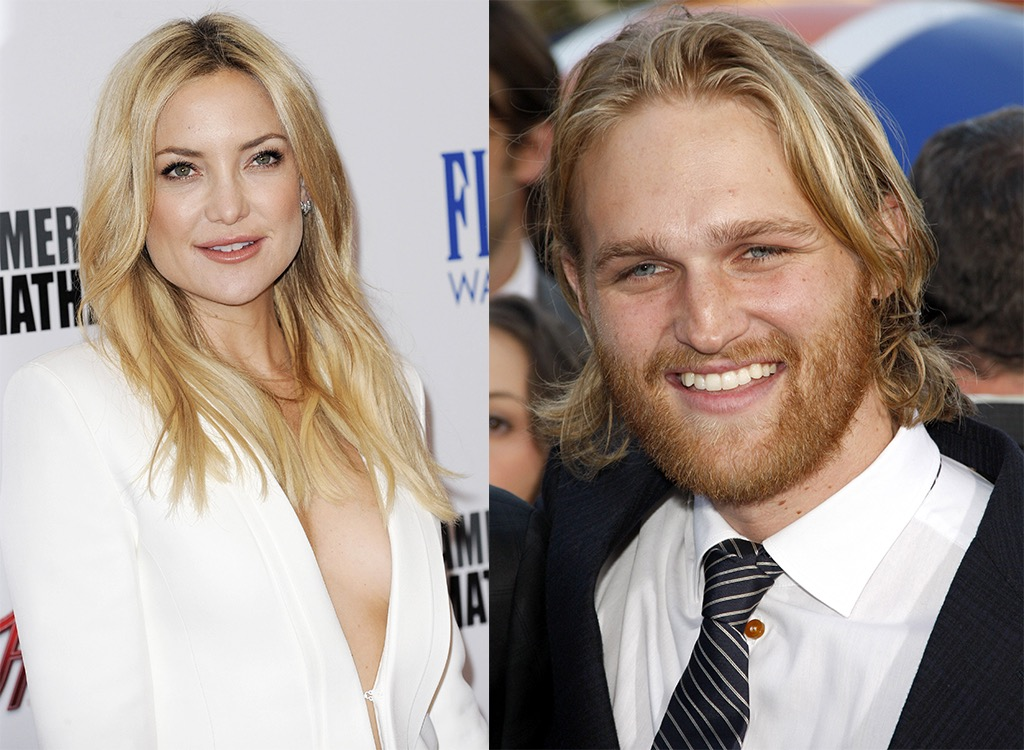 Wyatt Russell and Kate Hudson