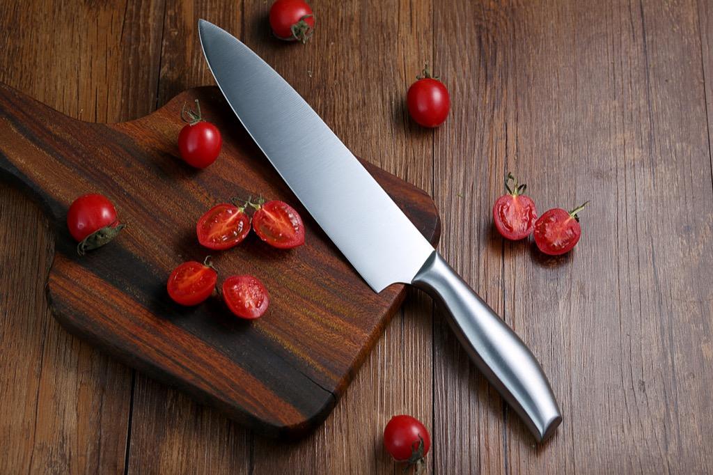 cutting board organized