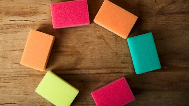Sponges, new uses for cleaning products