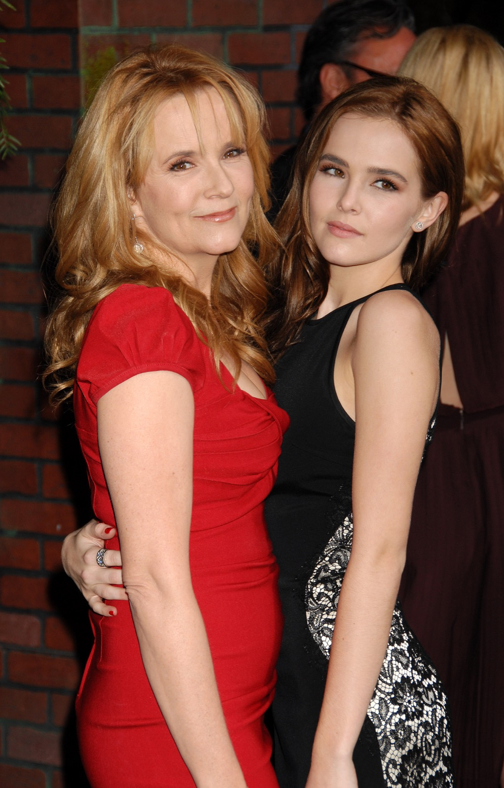 Lea Thompson and daughter Zoey Deutch