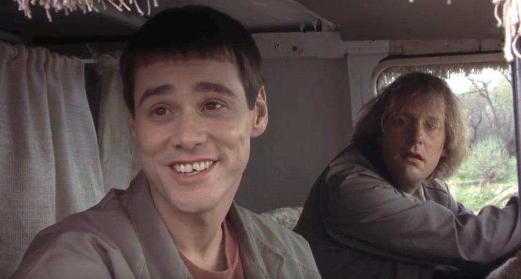 Lloyd Christmas Dumb and Dumber, funniest movie characters