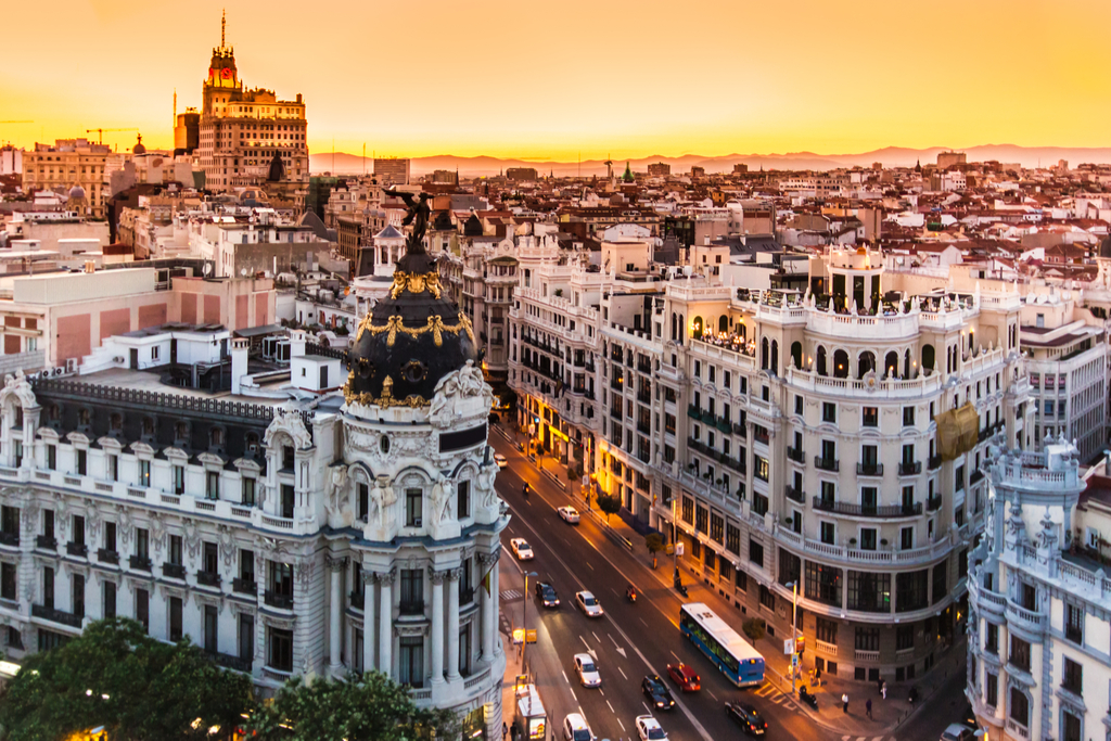 Madrid, Spain Cleanest Cities in the world