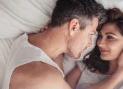 Man Checking in During Sex, healthy sex after 40