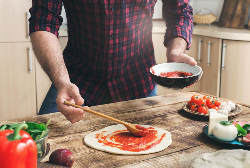 Man Making Pizza Valentine's Day, Best Date Ideas