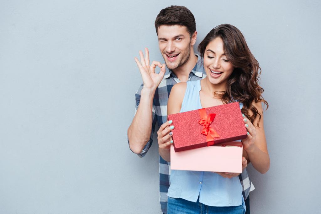 Man Surprising Woman Romance