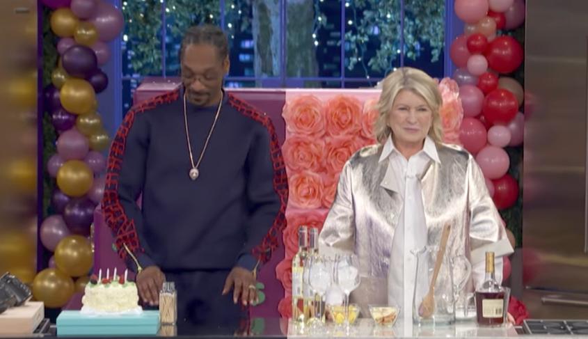 Martha Stewart Snoop Dog Fascinating Celebrity Friendships