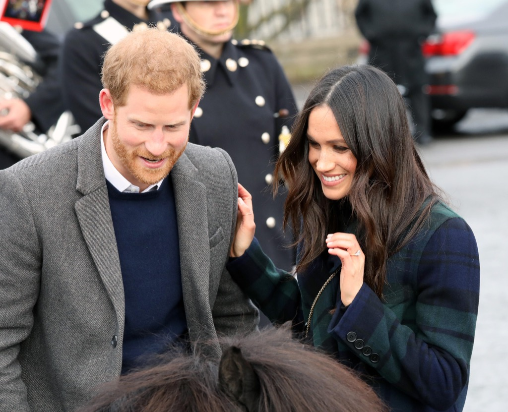 Meghan and Harry in Scotland Royal Wedding