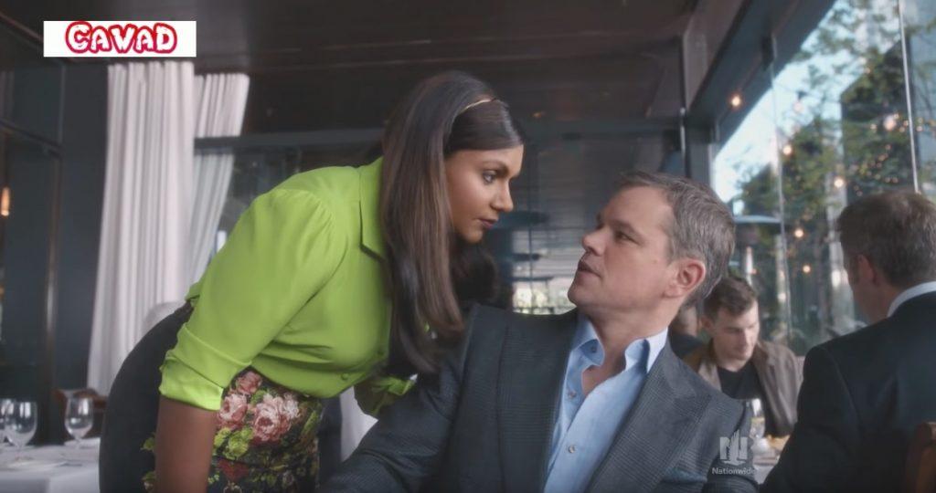 Mindy Kaling Matt Damon Nationwide Celebrity Commercials