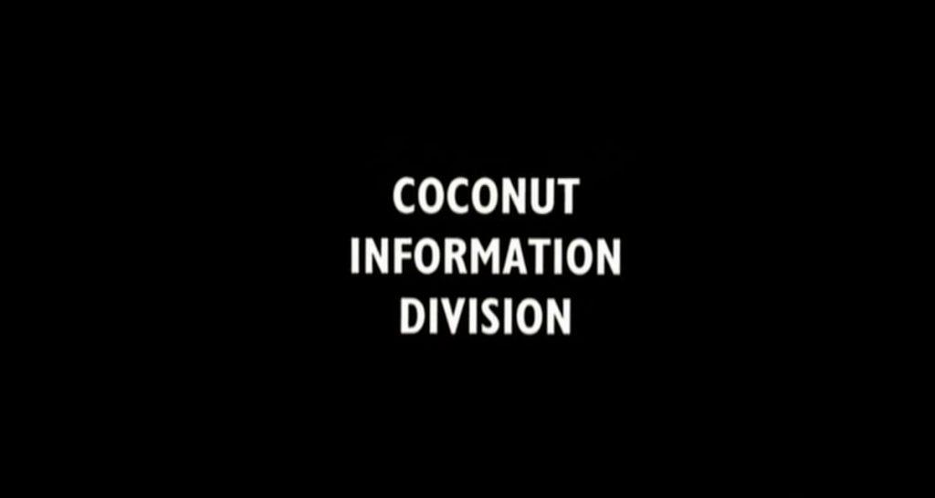 Monty Python Migrating Coconuts monty python quotes