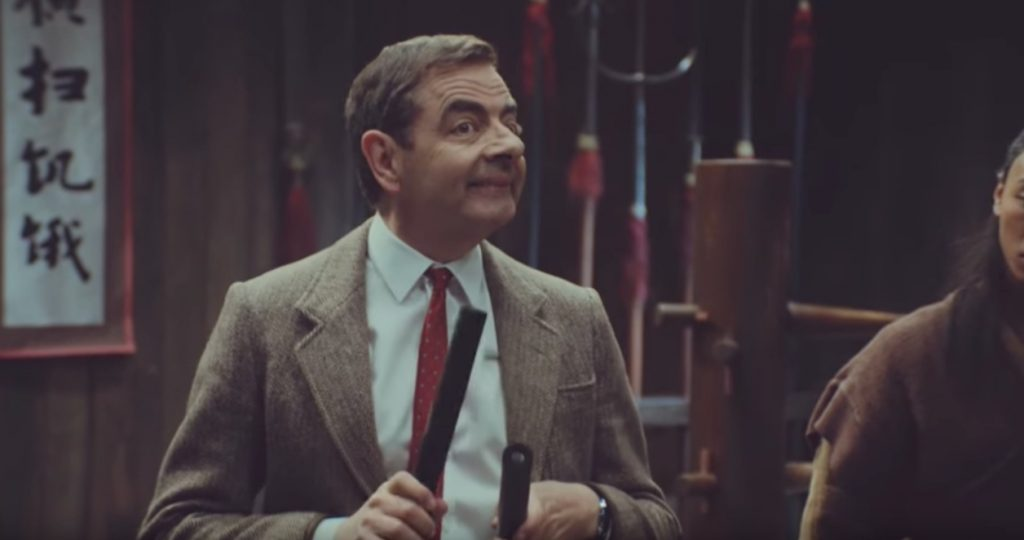 Mr. Bean Snickers Celebrity Commercials