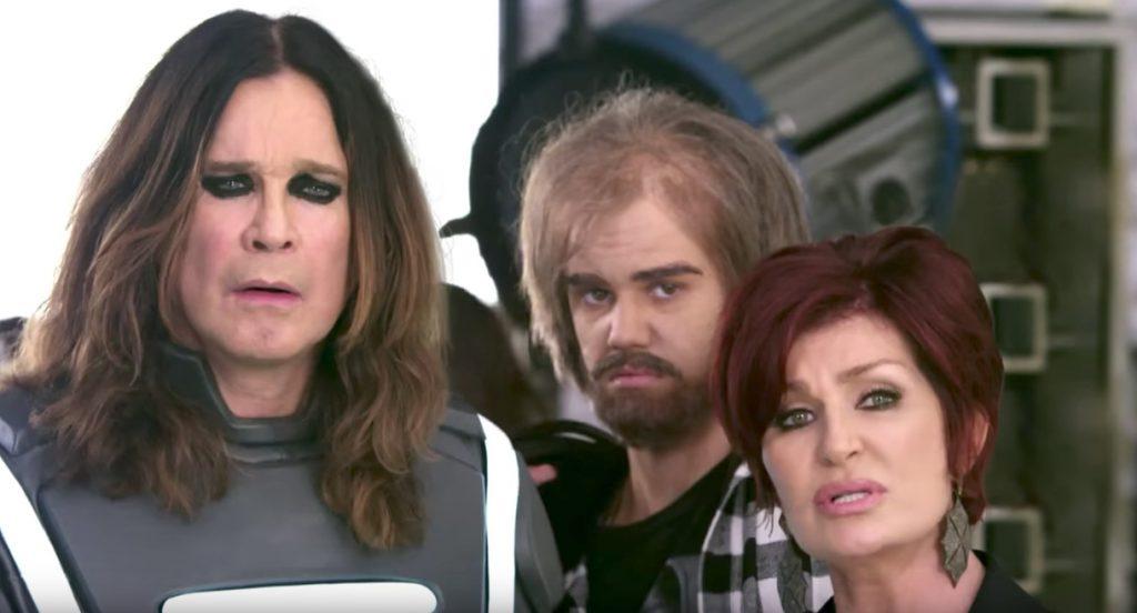 Ozzy Osbourne, Sharon Osbourne, Justin Beiber in Best Buy Celebrity Commercials