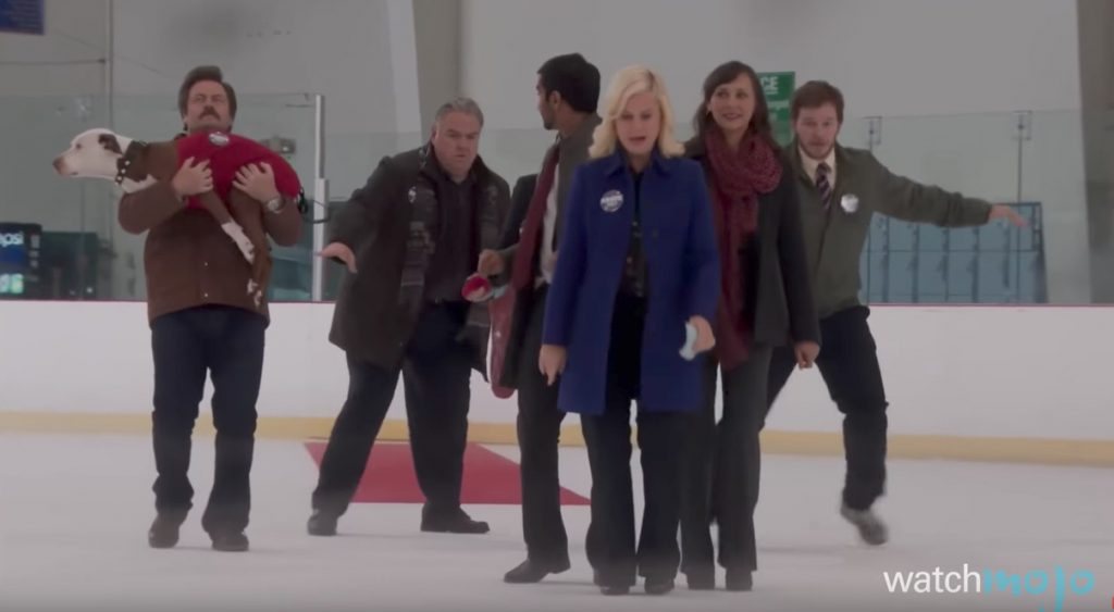 Parks and Recreation The Gang Tries to Cross the Ice Funniest Sitcom Jokes