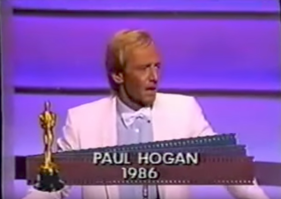 Paul Hogan Oscars Jokes