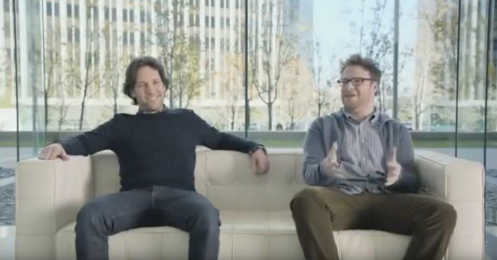 Paul Rudd Seth Rogan Samsung Celebrity Commercials