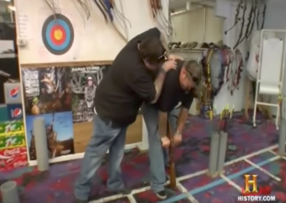 Pawn Stars Loading Crossbow Reality Show
