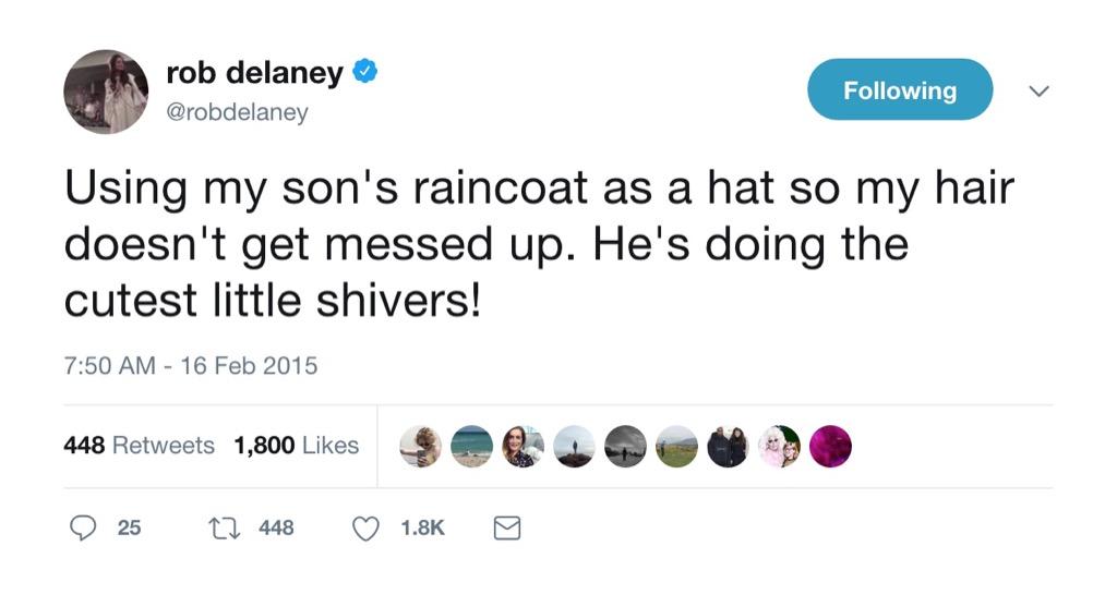 Rob Delaney funny tweet