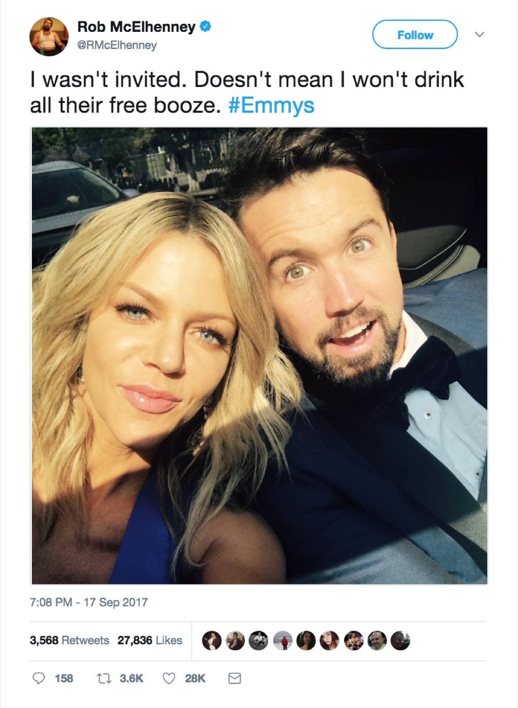 Rob McElhenney funniest celebrity marriage tweets