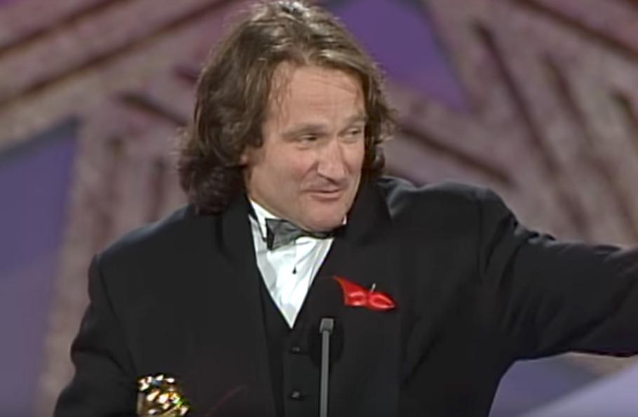Robin Williams Funniest Awards Acceptance Speech Punchlines