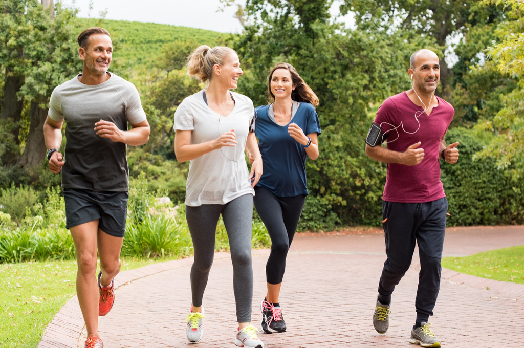 Running with Friends, how to make friends after 40