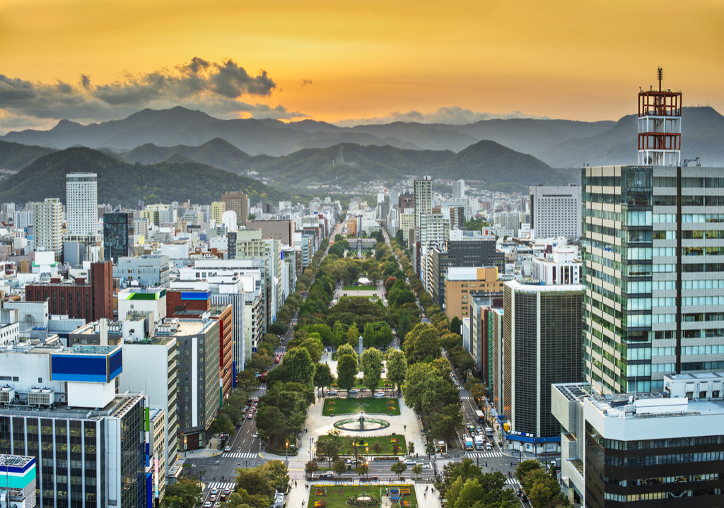 Sapporo, Japan Cleanest Cities in the world
