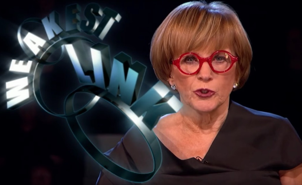 Weakest Link Funniest Reality Show Catchphrases