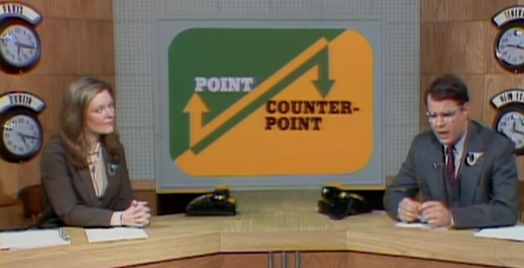 Point/Counterpoint Funniest SNL Skits