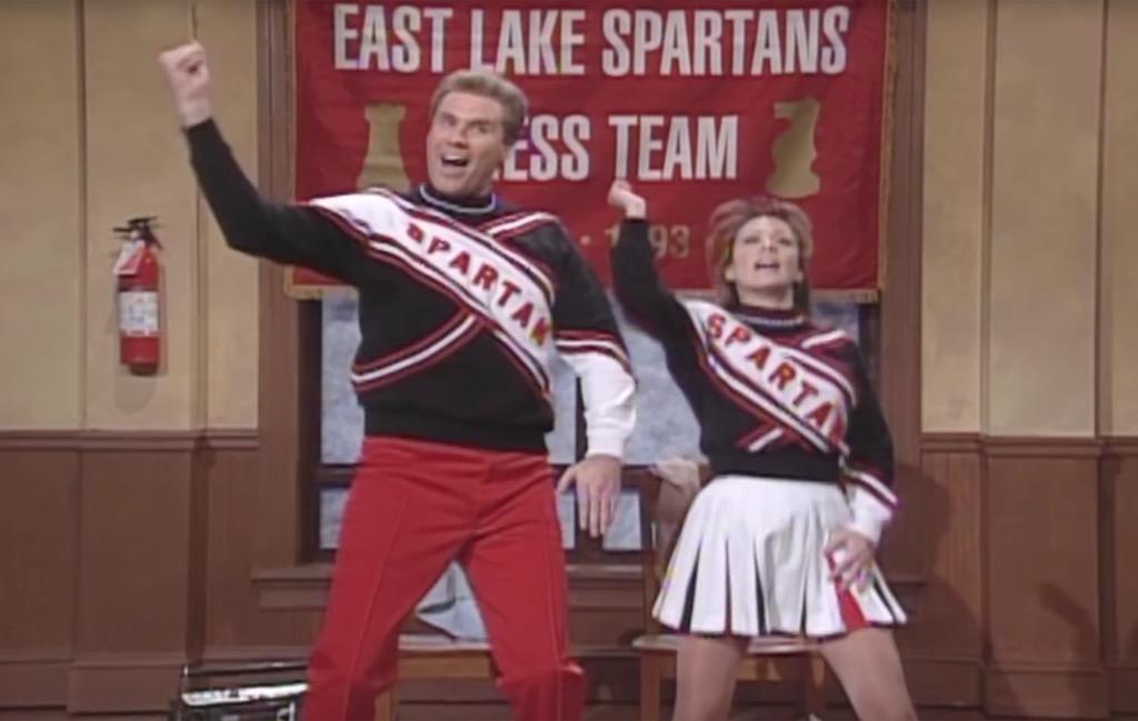 Spartan Cheerleaders Funniest SNL Skits