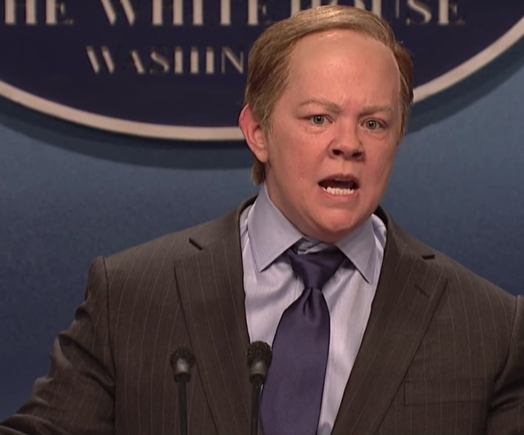 Sean Spicer Funniest SNL Skits