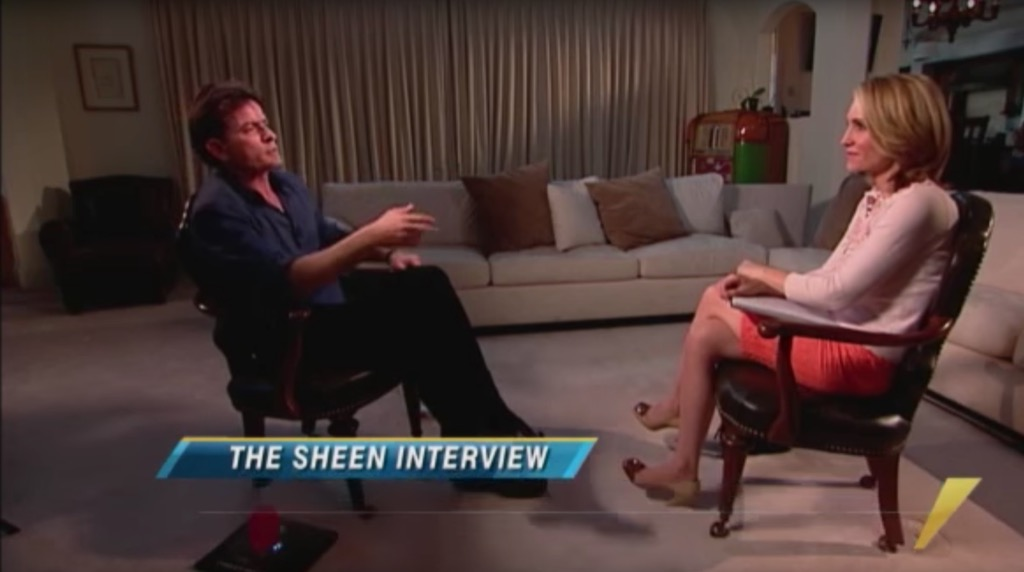 charlie sheen Outrageous Celebrity Interview