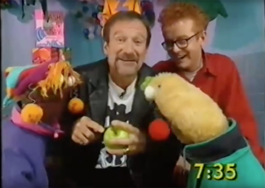 Robin Williams Outrageous Celebrity Interview