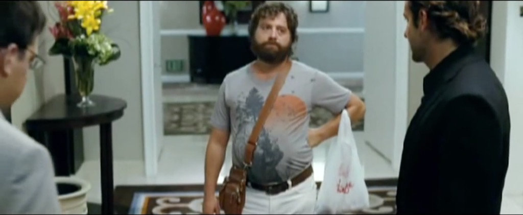 Hangover manbag funny movie quotes