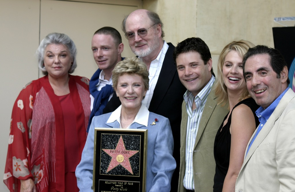 Patty Duke and son Sean Astin