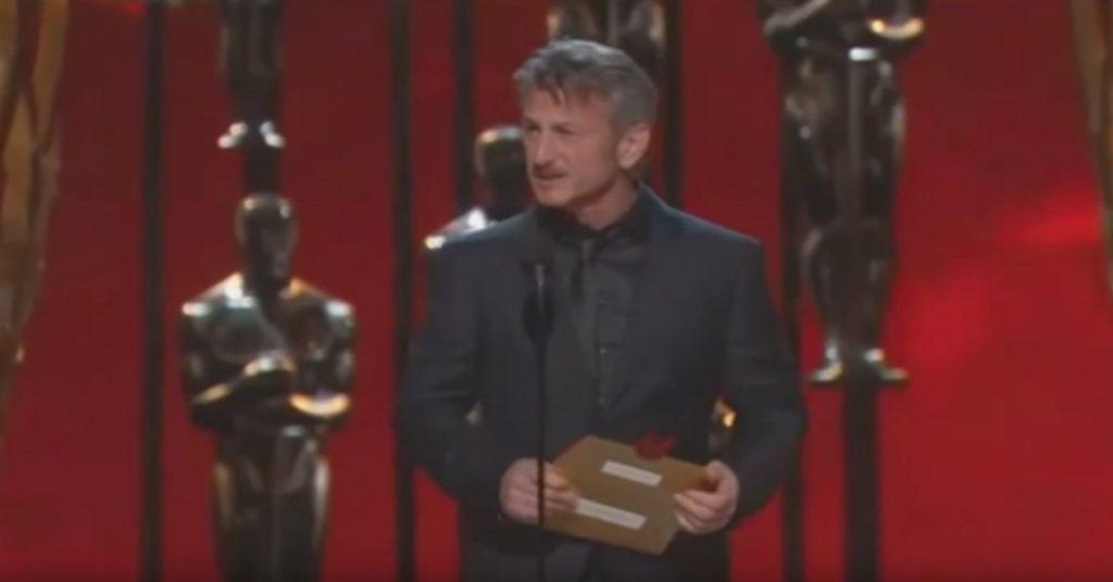 Sean Penn Green Card Oscars Jokes