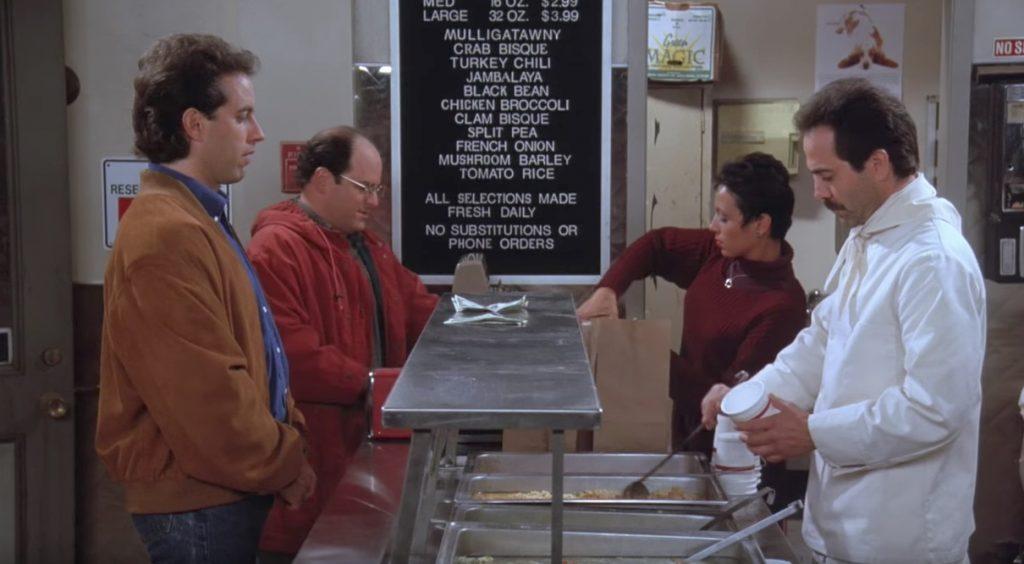 Seinfeld Soup Nazi Funniest Sitcom Jokes